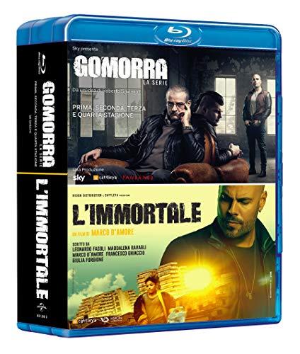 Gomorra: Boxset Stagioni 1-4 + L\'Immortale (Box Set) (16 Blu Ray)