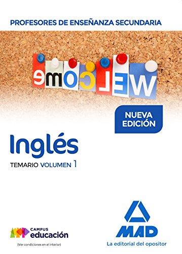 Profesores de Enseñanza Secundaria Inglés Temario volumen 1
