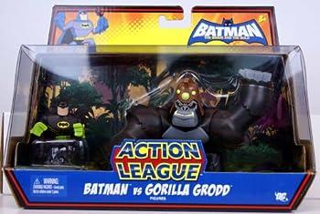 DC Batman Brave and the Bold Action League Mini Figure 2Pack Batman & Gorilla Grodd