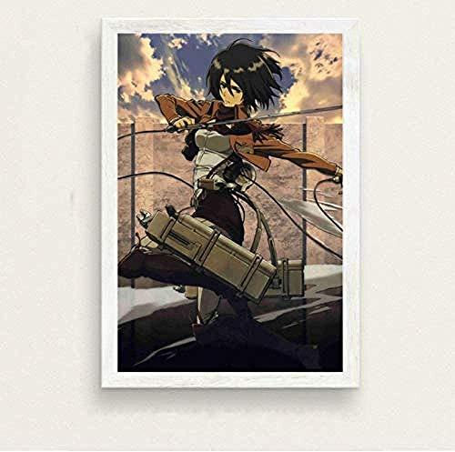 AS65ST12 Carteles y impresiones Carteles e impresiones de pintura de la lona Japón animado cuadros de la pared for la sala de arte decorativo Decoración Affiche 40 x 60 cm sin el capítulo Posters Prin