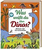 Was weißt du über Dinos?: Wissen für Vorschulkids. Erstes großes Dino-Sachbuch mit Fotos und...