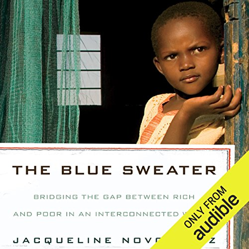 The Blue Sweater audiobook cover art