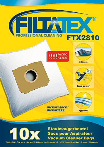 10 x FILTATEX sacs aspirateur Tornado powerce tornado power ce
