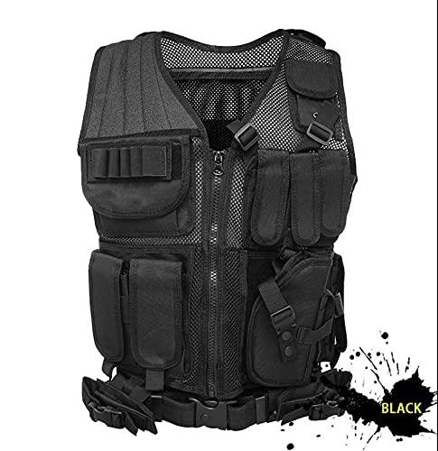 tactical vest for women N\C Tactical Vest Military Vest Combat Training Vest Ultra-Light Breathable Tactical Vest for Outdoor Sports …