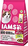 ケース販売 IAMS(アイムス) キャットフード 成猫用 避妊・去勢後の健康維持 チキン 1.5kg 1ケース(6個) マースジャパン