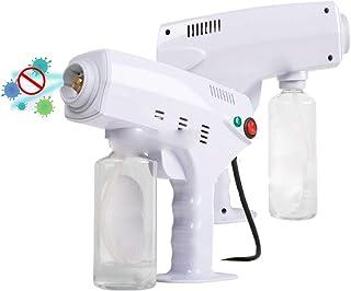 Disinfection White Spray Fogging Machine Nano Humidifier Blue Light for Auto Indoor Outdoor Garden Hotel School 500ml