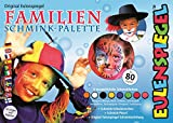Eulenspiegel 208014 Familien Schminkpalette, 8 Farben, 22 x 16 x 4 cm -