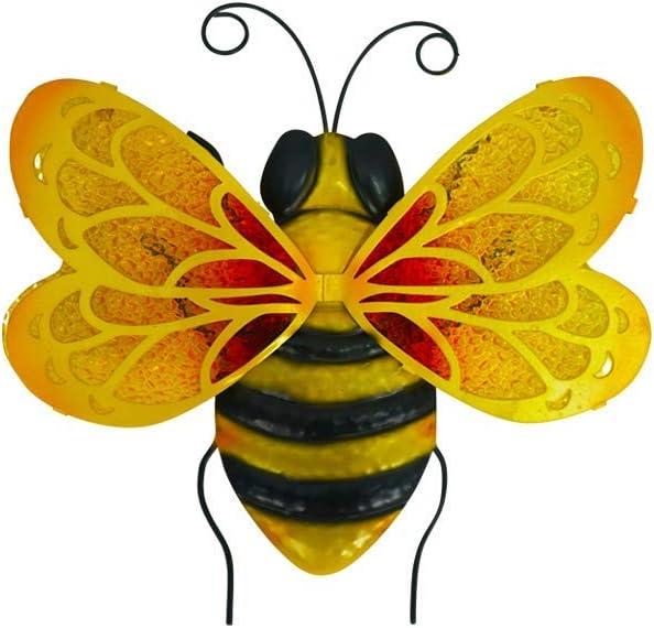 Liffy Metal Bee Wall Decor