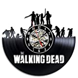 Walking Dead TV Series Wall Clock Modern Gift Friendship Gift Birthday Party Gift Idea Unique Gift for Boys Girls Teens Youth New House Gift