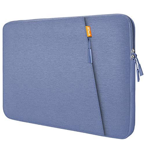 JETech Funda Portátil Compatible 13,3' Notebook Tableta iPad Tab, Maletín de Bolsa Impermeable, Sleeve Compatible Macbook Air/Pro, MacBook Pro de 13', 12.3 Surface Pro, Surface Laptop, Púrpura