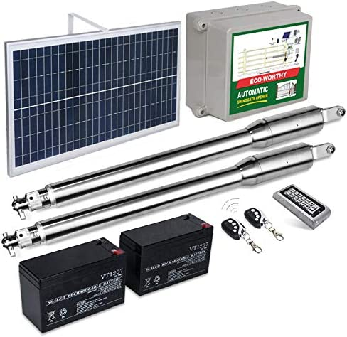 ECO WORTHY Automatic Gate Opener Kit with Keypad Batteries Included IP66 Waterproof Heavy Duty product image