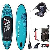 Paddle Aqua Marina Vapor PAGAIE + Leash + Siege Kayak