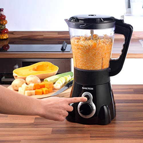 Salter EK2401 Go Healthy Electric Soup Maker with Detachable Blades, 1000W, 1.5 Litre