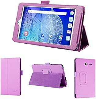 wisers 2016 ALCATEL ONETOUCH POP 7 LTE 7-inch Tablet case/Cover, Purple
