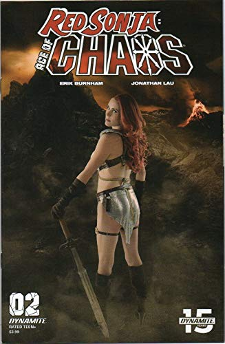 Red Sonja: Age of Chaos, vol. 1, no. 2 (cover E: Cosplay Photo Variant, with model Shannon Kingston) (sword & sorcery fantasy comic)