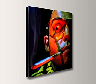 "Fear and Loathing in Las Vegas - Exclusive Wall Art Canvas Print -""The Fear"""