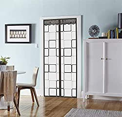 cheap Insulated Door Curtains-Thermomagnetic Automatic Closing Door Flap Winter Stop Draft Keep…