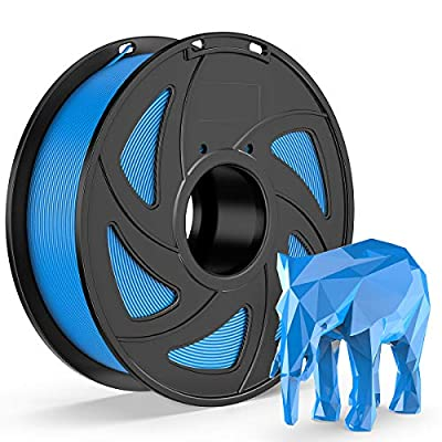 E-DA ABS 3D Printer Filament, ABS Filament, With High Strength and Better Toughness, 3D Printing Filament for 3D Printers, Dimensional Accuracy +/- 0.03mm, (Blue)
