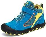 Zapatos de Senderismo Niño Zapatillas de Trekking Niños Zapatos Deportivos Cómodo Transpirable Antideslizante Montaña Al Aire Libre Azul 38