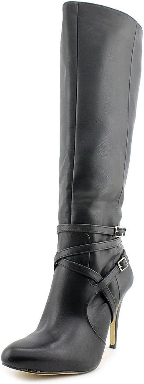 Inc International Concepts Womens Taigi Leather Knee Heel Boots