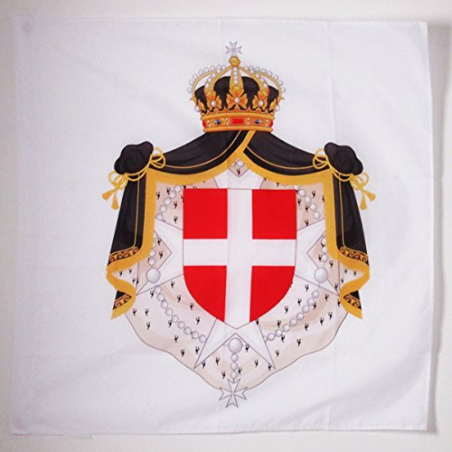 AZ FLAG Flagge Wappen MALTESERORDEN 90x90cm - Orden VON Malta Fahne 90 x 90 cm Scheide für Mast - flaggen Top Qualität