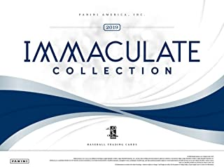 2019 Panini Immaculate Baseball Hobby 8-Box Case