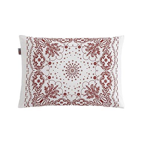 Essix Bandana Taie d'oreiller Coton/Percale de coton Sienne 70 x 50 cm