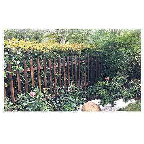 WXQIANG Gartenzaun Holz Dekorative Picket Fencing Außenpatio Pet Barrier Schutzgeländer (Color : 1PC, Size : 130X100CM)