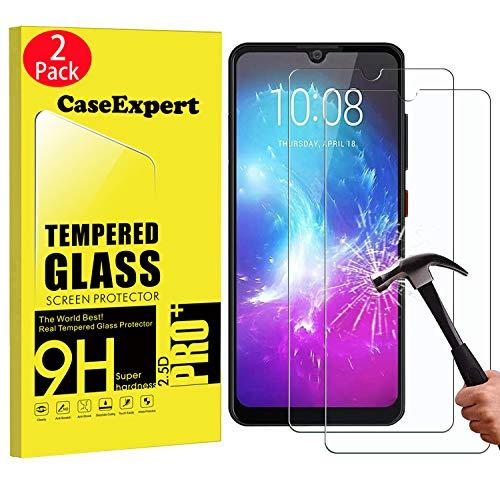 CaseExpert 2 Pack - ZTE Blade A7 (2019) Panzerglas, Gehärtetem Schutzfolie Glasfolie Hartglas Panzerfolie Displayschutzfolie Für ZTE Blade A7 (2019)