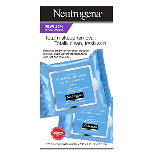 Neutrogena Make Up Remover Facial Wipes (125 CT)