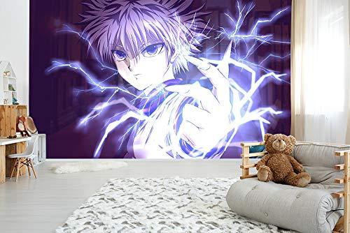 CZL Fototapete 3D Effekt Tapeten HUNTER × HUNTER Anime Motivtapeten Wandtapete Wandbild Wand Dekoration Für Schulen, Hotels, Wohnzimmer, Schlafzimmer, Restaurants Und Ktv-Bars