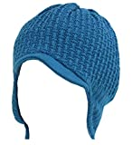 Döll Dolli Jungen Strick-Kinder-Mütze blau, Gr. 39 (39)