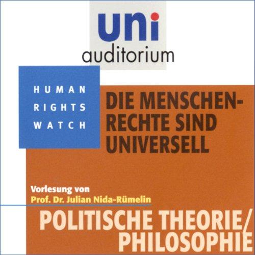 Die Menschenrechte sind universell (Uni-Auditorium) Titelbild