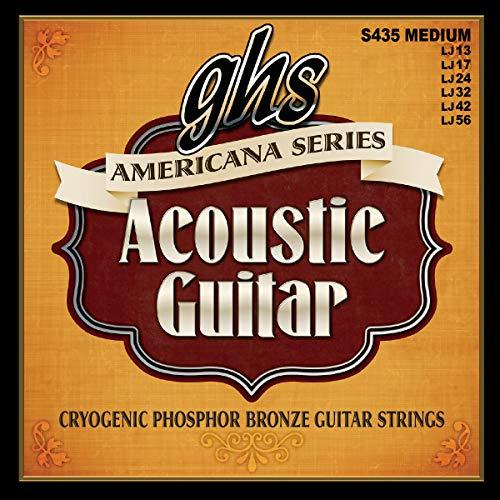 GHS PB S 425 Americana guitarra acústica Cadena de Luz