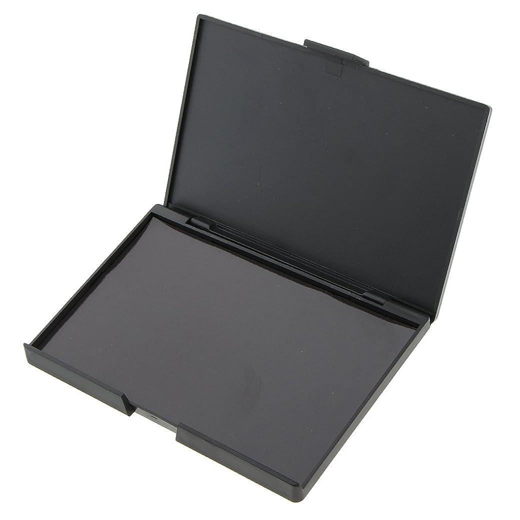 スチュワード戸惑う雪2本 磁気パレットボックス 空の磁気パレット メイクアップ 化粧 収納ボックス 携帯便利