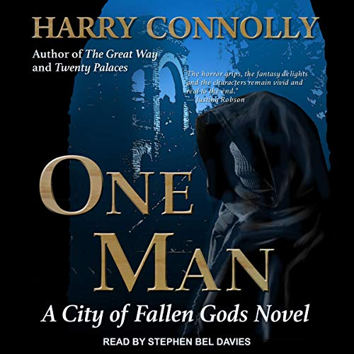 One Man audiobook cover art
