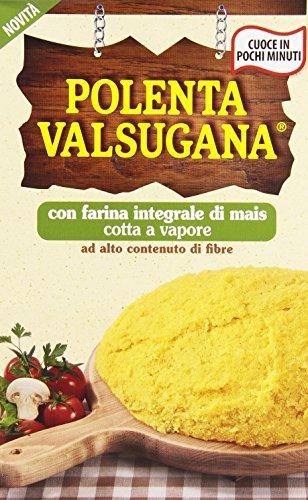 Bonomelli Polenta Valsugana Integrale Gluten-frei 100% Vollkornmaismehl 330g