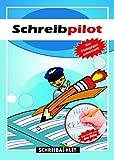 Schreibathlet: Schreiblernheft für ABC-Schützen mit vorgeprägten Buchstaben...