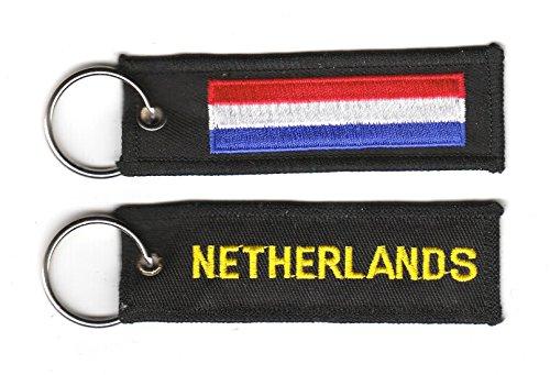 Schlüsselanhänger Niederlande Anhänger Fahne Flagge FLAGGENMAE®