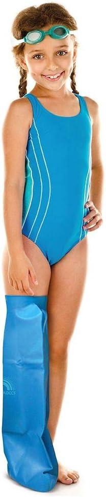 Bloccs Waterproof Superior Cast Shower Cover Full Medium OFFicial Child Leg