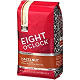 Eight O'Clock Whole Bean Coffee, Hazelnut, 33 Ounce (Pack of 1)