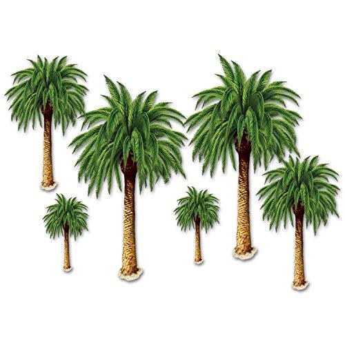 A Beistle Creation 52005 Palmen-Requisiten, plastik, mehrfarbig