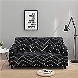 WXQY Funda de sofá elástica combinada Funda de sofá Antideslizante Funda de sofá de Esquina en Forma de L Rush para Proteger la Funda de sofá A12 4 plazas
