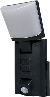 Negro portátil LED exterior Luz nocturna/Orientación Luz con sensor de movimiento, funciona con pilas: Amazon.es: Iluminación