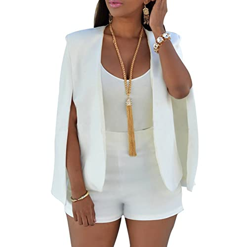 f39ac3d530 Juleya Women Autumn Poncho Cape - Ladies Open Front Cloak Jacket Coat Gilet  Cardigan Plus Size