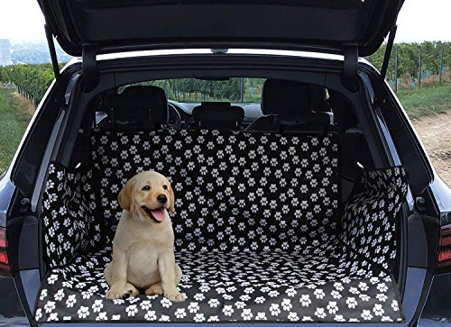 Extra Length Dog Trunk Cargo Liner - Trunk Protector for Dogs - Pet...