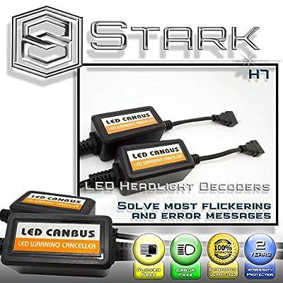 LED Headlight Anti Flickering Decoder Canbus Error Free Resistor Decoders - PAIR