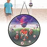 Okuyonic Jeu d'interaction Merveilleux et léger, Toss Game, PE Durable pour Jouer sur la Plage pour Jouer dans la Cour(Rugby 222-4A)