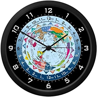 World Time Clock - 10 Inch