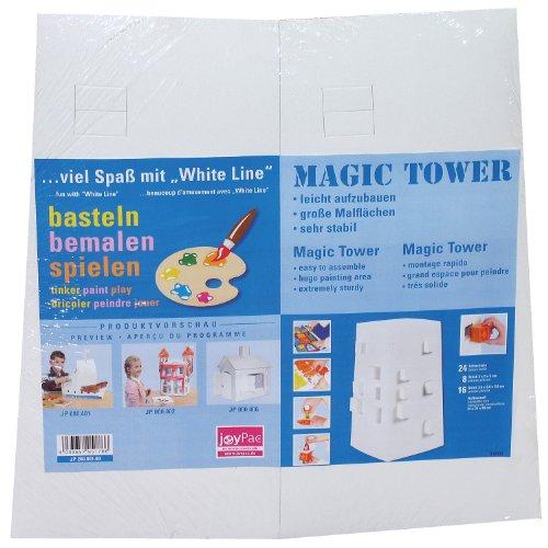 Adventskalender XXL Turm blanko - Magic Tower White Line JoyPac